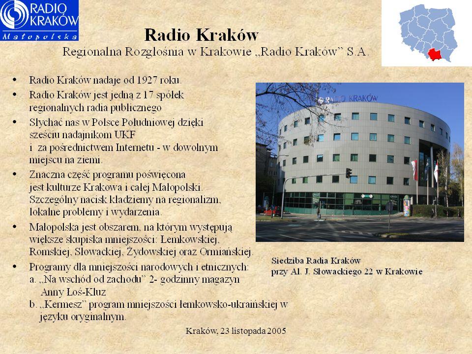 Kraków, 23 listopada 2005.