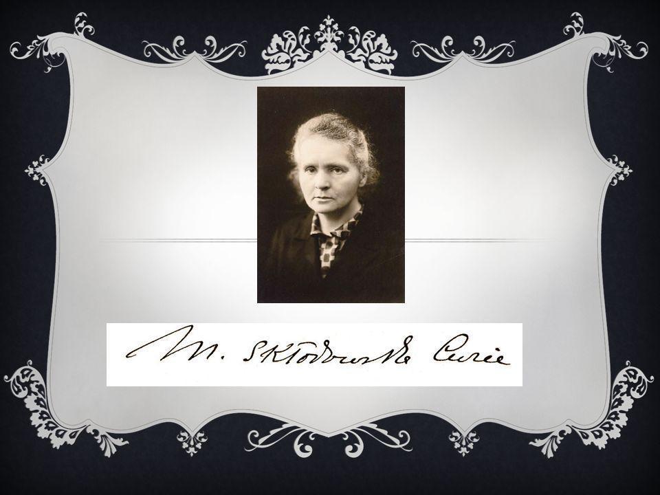 Maria Salomea Skłodowska - Curie ur.