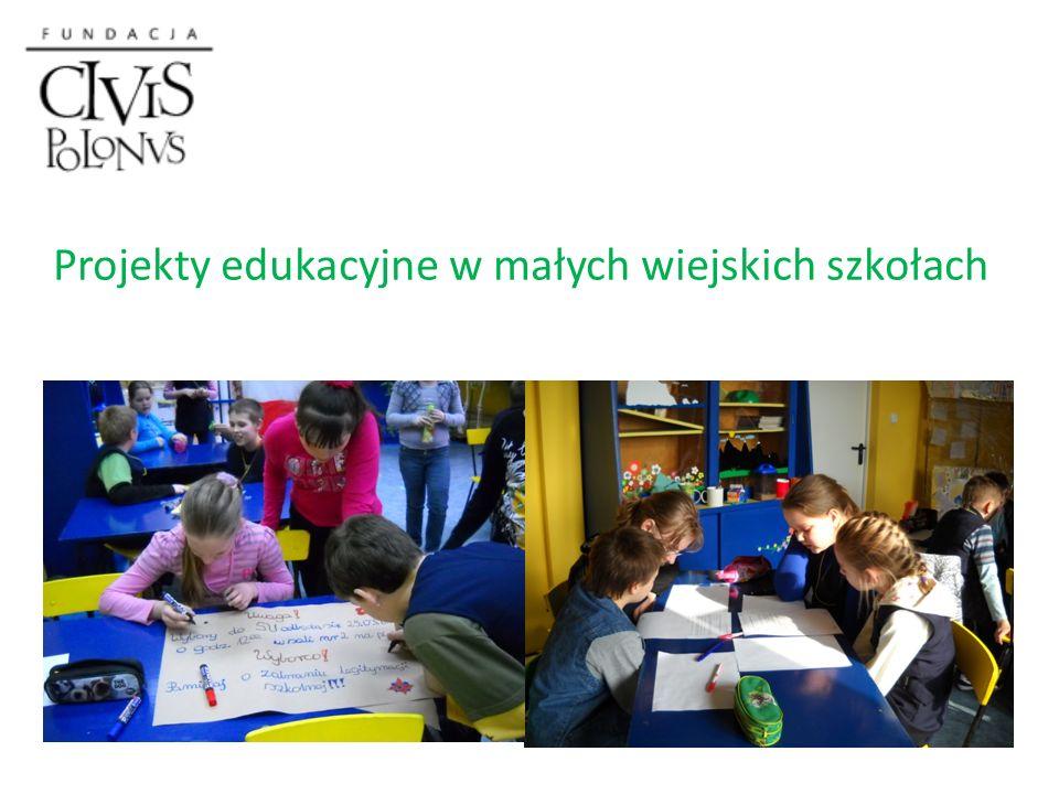 Projekty edukacyjne w małych wiejskich szkołach