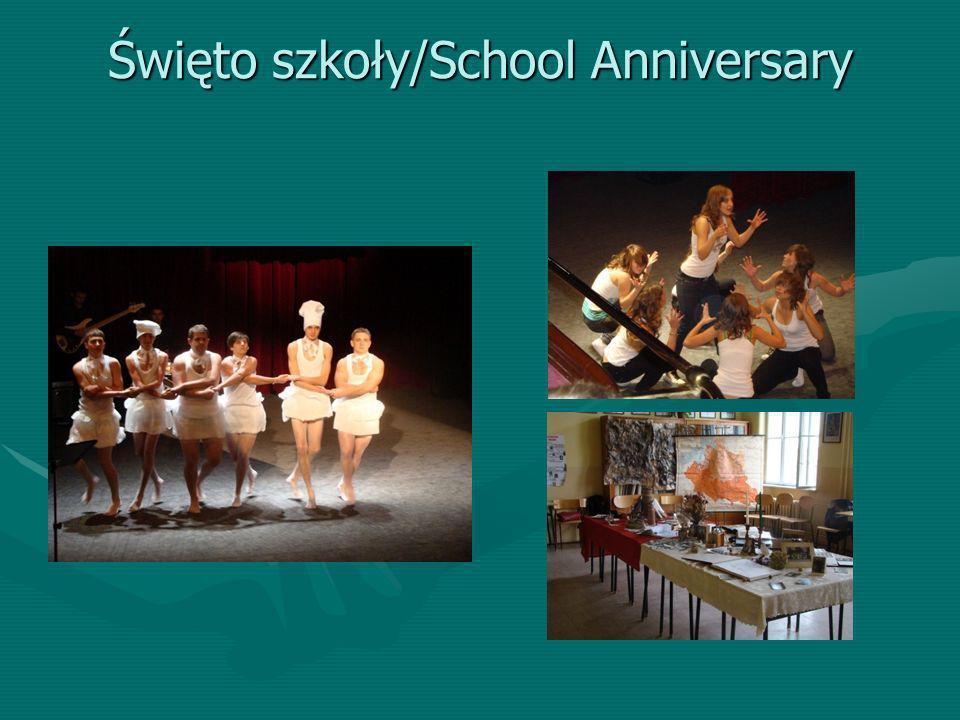 Święto szkoły/School Anniversary