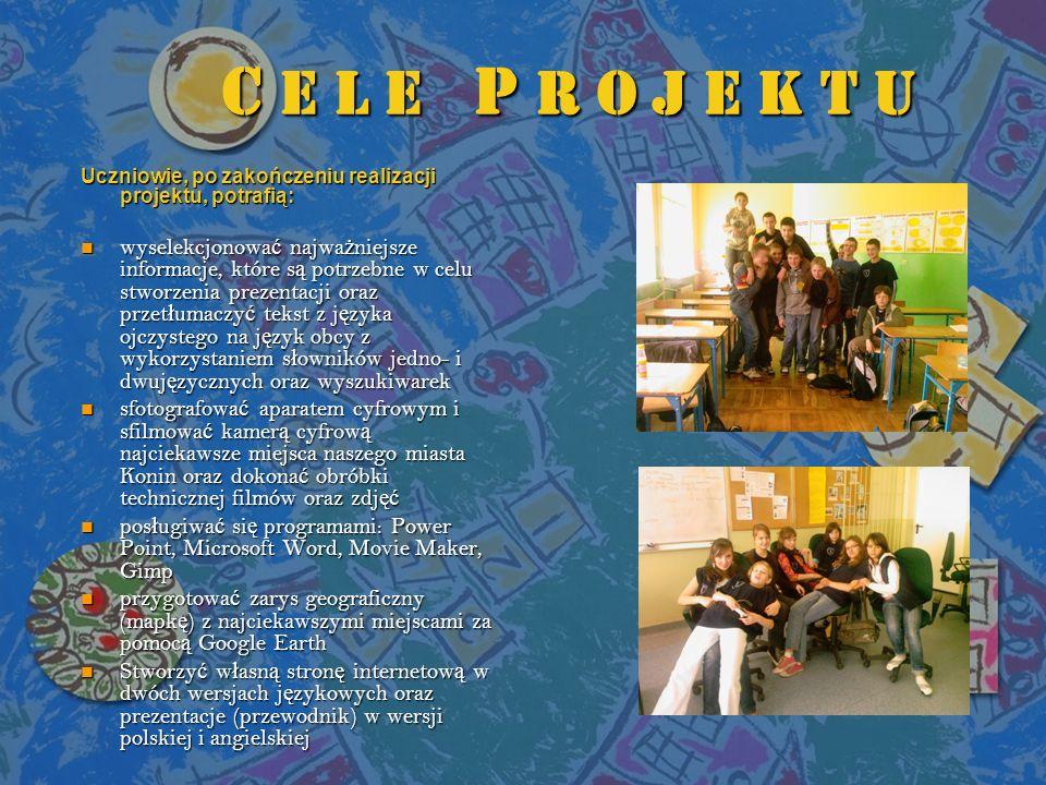 O P I S P R O J E K T U Jest to projekt mieszany, zawieraj ą cy elementy medialne i społeczno-obywatelskie.