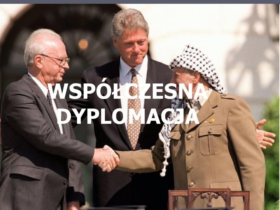 współczesna dyplomacja WSPÓŁCZESNA DYPLOMACJA