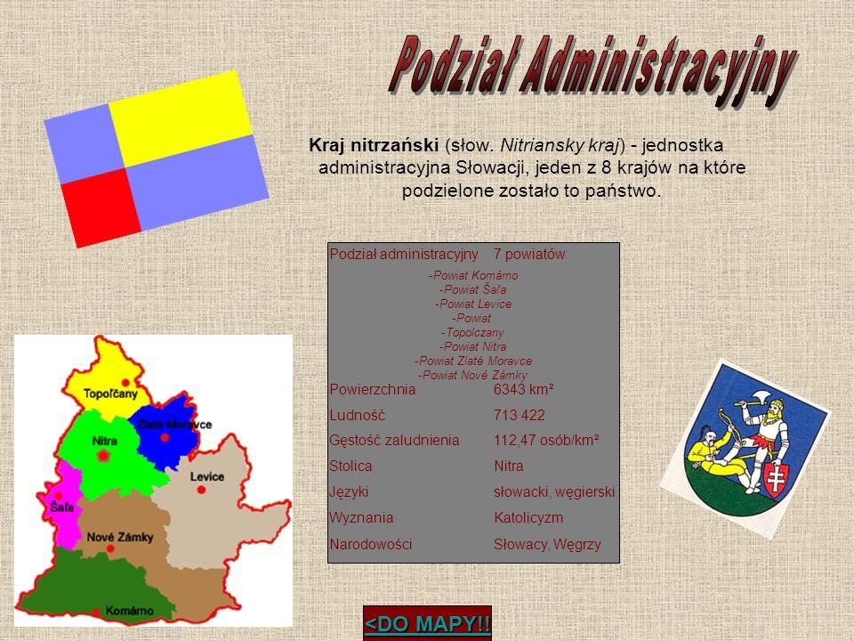 Kraj nitrzański (słow. Nitriansky kraj) - jednostka administracyjna Słowacji, jeden z 8 krajów na które podzielone zostało to państwo. Podział adminis