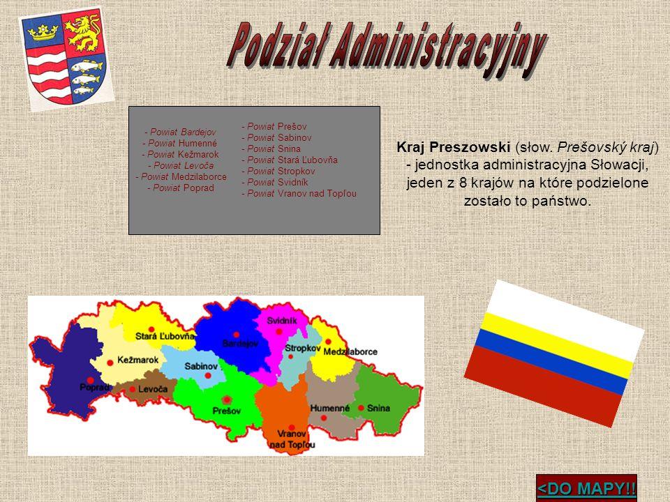 <DO MAPY!! <DO MAPY!! - Powiat Bardejov - Powiat Humenné - Powiat Kežmarok - Powiat Levoča - Powiat Medzilaborce - Powiat Poprad - Powiat Prešov - Pow