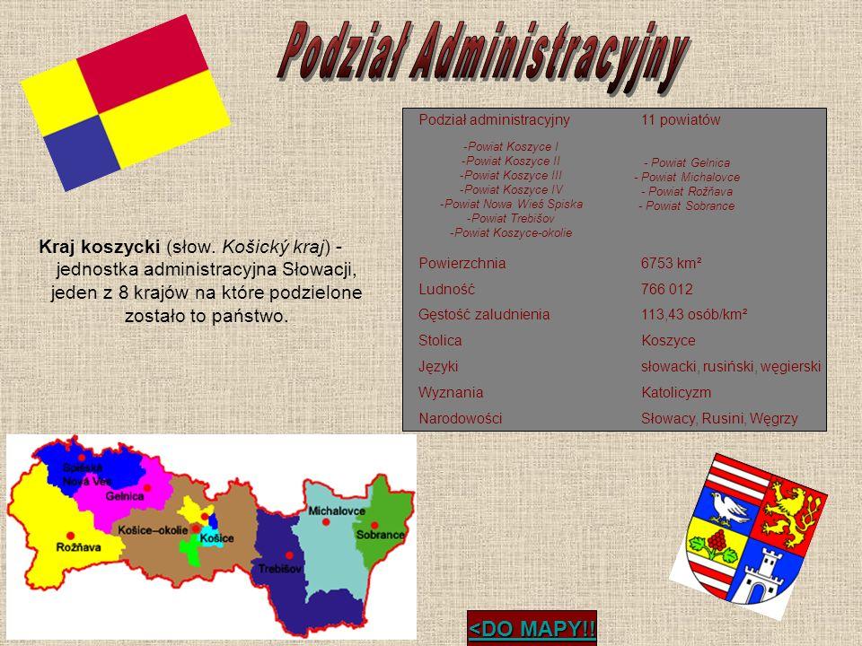 Kraj koszycki (słow. Košický kraj) - jednostka administracyjna Słowacji, jeden z 8 krajów na które podzielone zostało to państwo. <DO MAPY!! <DO MAPY!
