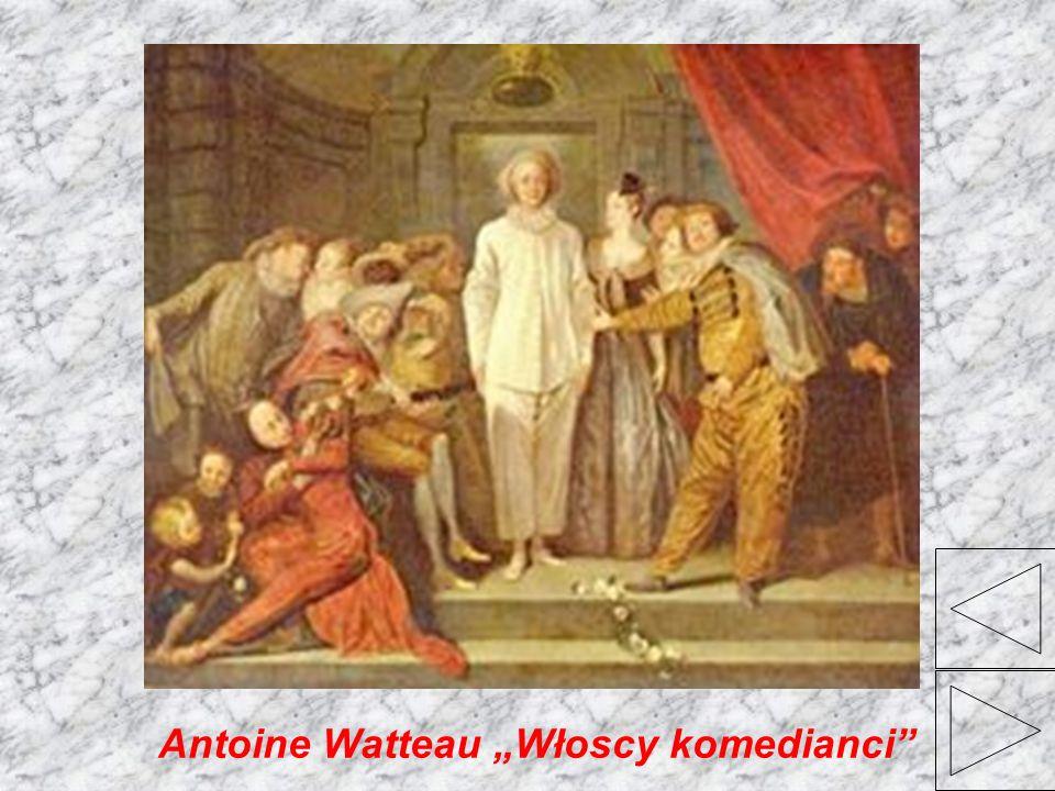 Antoine Watteau Włoscy komedianci