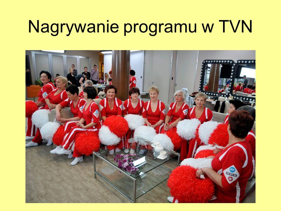 Nagrywanie programu w TVN