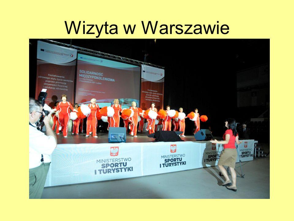 Wizyta w Warszawie