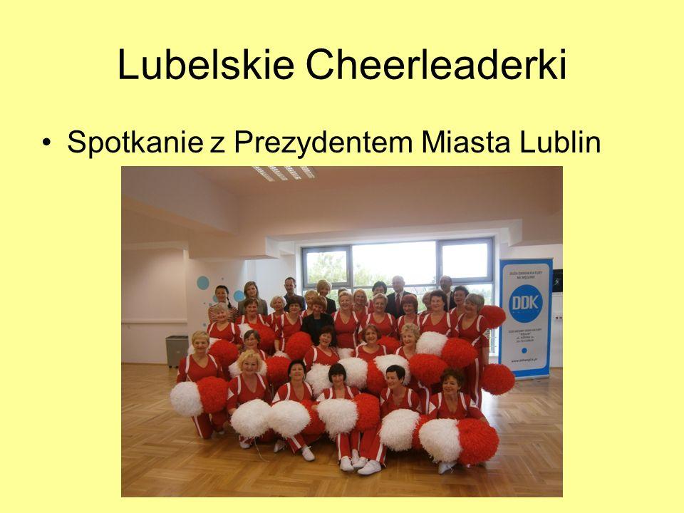 Lubelskie Cheerleaderki Spotkanie z Prezydentem Miasta Lublin