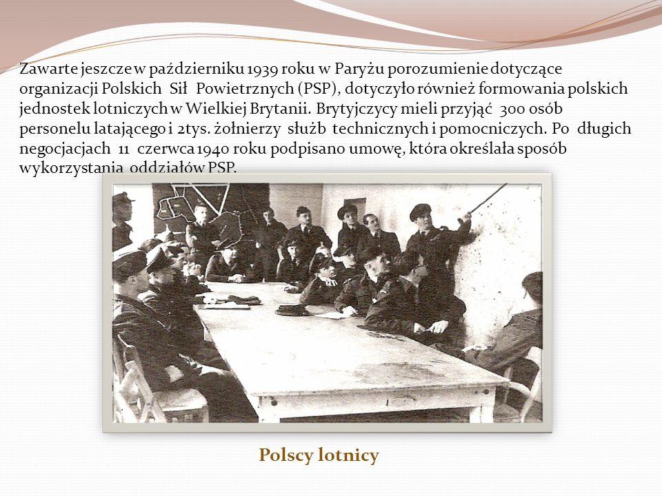 Lotnicy polscy, którzy znaleźli się na angielskiej ziemi, mieli duże doświadczenie bojowe z kampanii wrześniowej oraz walk we Francji.Pałali też żądzą