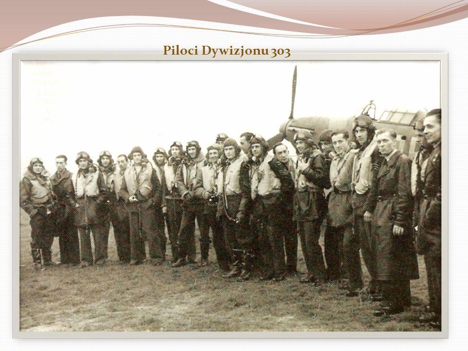 Polskie dywizjony W lipcu i w sierpniu 1940 roku powstały dwa polskie dywizjony myśliwskie, które rychło okryły się wielką sławą : 302 Dywizjon Poznań