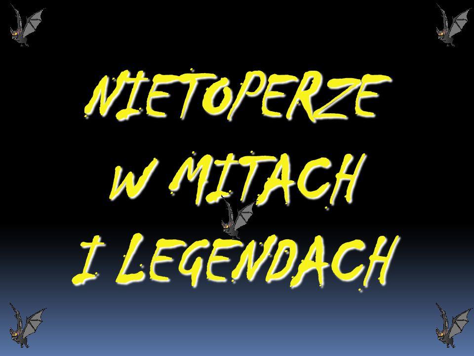 NIETOPERZE W MITACH I LEGENDACH