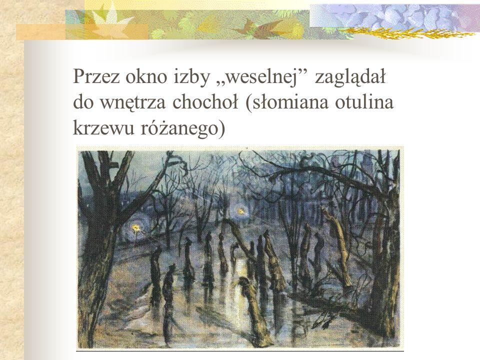 Mieszkańców Bronowic reprezentowali: Błażej Czepiec, drugi świadek na weselu Rydla, oraz jego żona Wiktoria, Klimina, wdowa po wójcie bronowickim, Jas