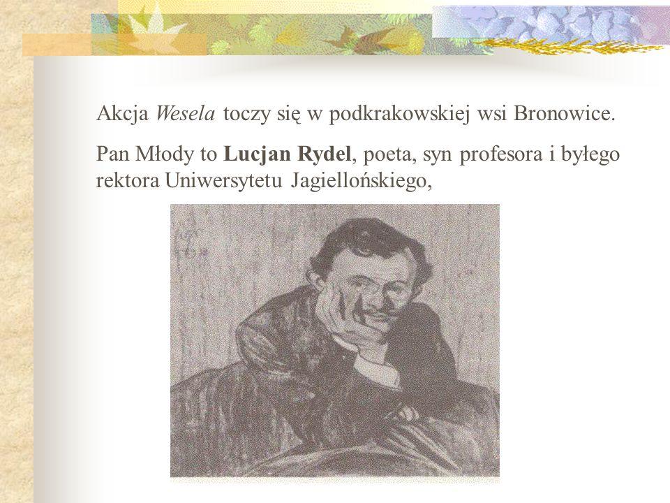 Stanisław Wyspiański pisywał poezje i dramaty (Wesele, Wyzwolenie, Noc listopadowa, Warszawianka, Legion, Achilleis, Klątwa, Bolesław Śmiały).