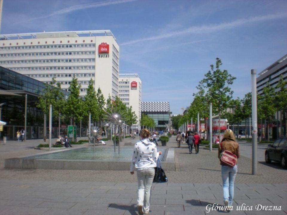 Główna ulica Drezna