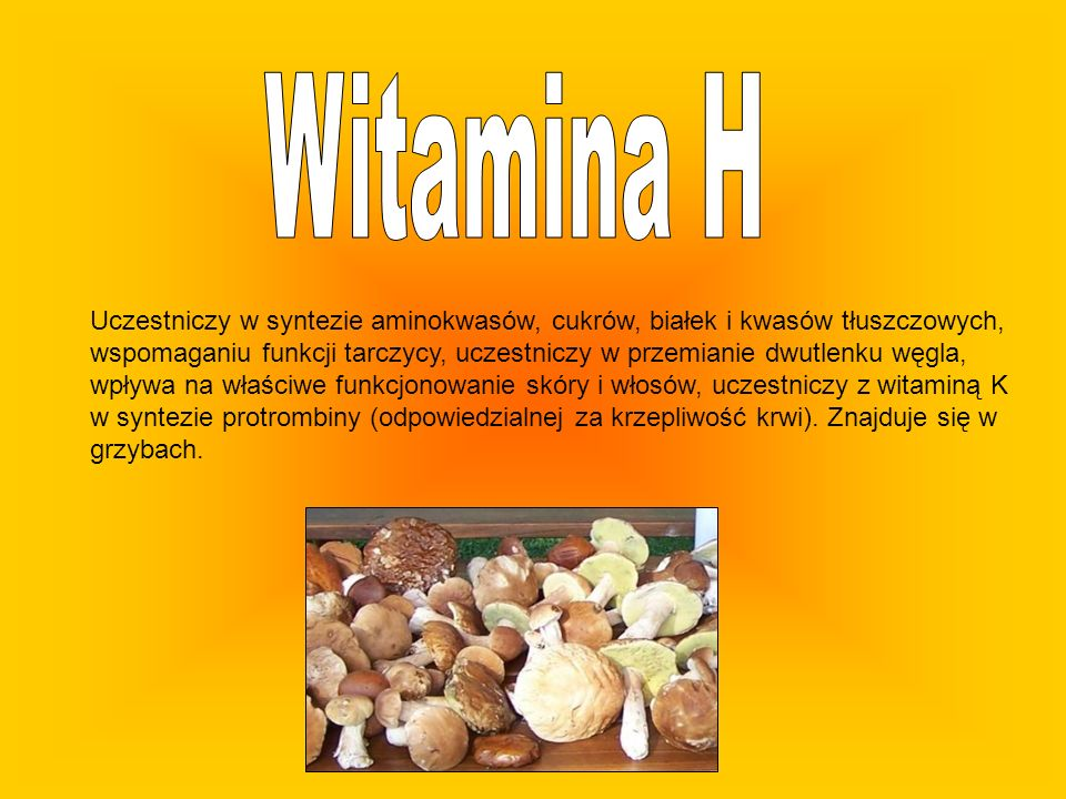 Uczestniczy w syntezie aminokwasów, cukrów, białek i kwasów tłuszczowych, wspomaganiu funkcji tarczycy, uczestniczy w przemianie dwutlenku węgla, wpły