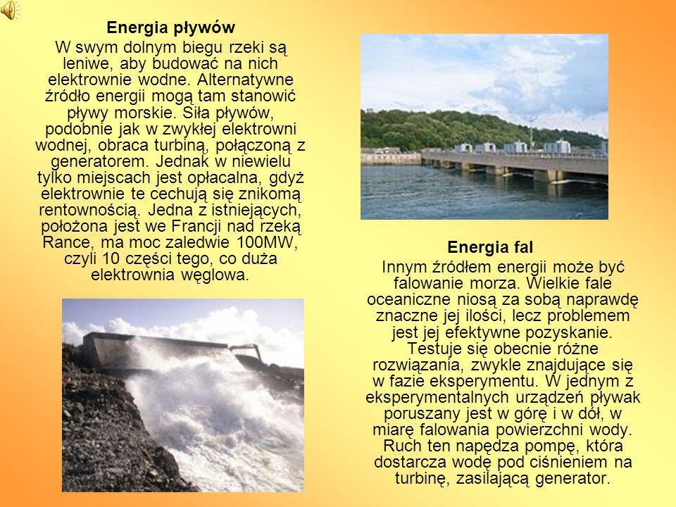 Woda źródłem energii.Koła i turbiny wodne Koło wodne, historia którego sięga wstecz do I w.