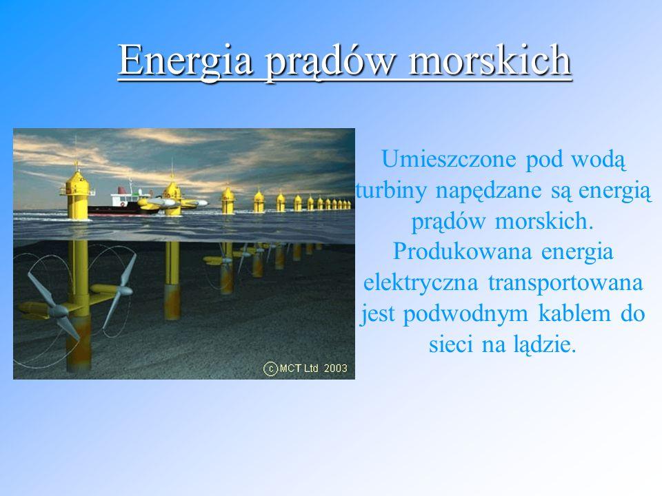 Moc fal ocenia się na 3 TW, jednak wykorzystanie tej energii sprawia pewne trudności pomimo, iż opracowano wiele teoretycznych metod konwersji energii falowania na energię elektryczną.