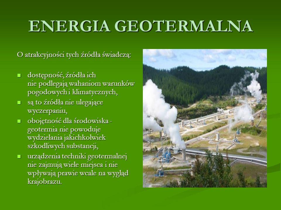 ENERGIA WODY Zalety małych elektrowni wodnych to m.