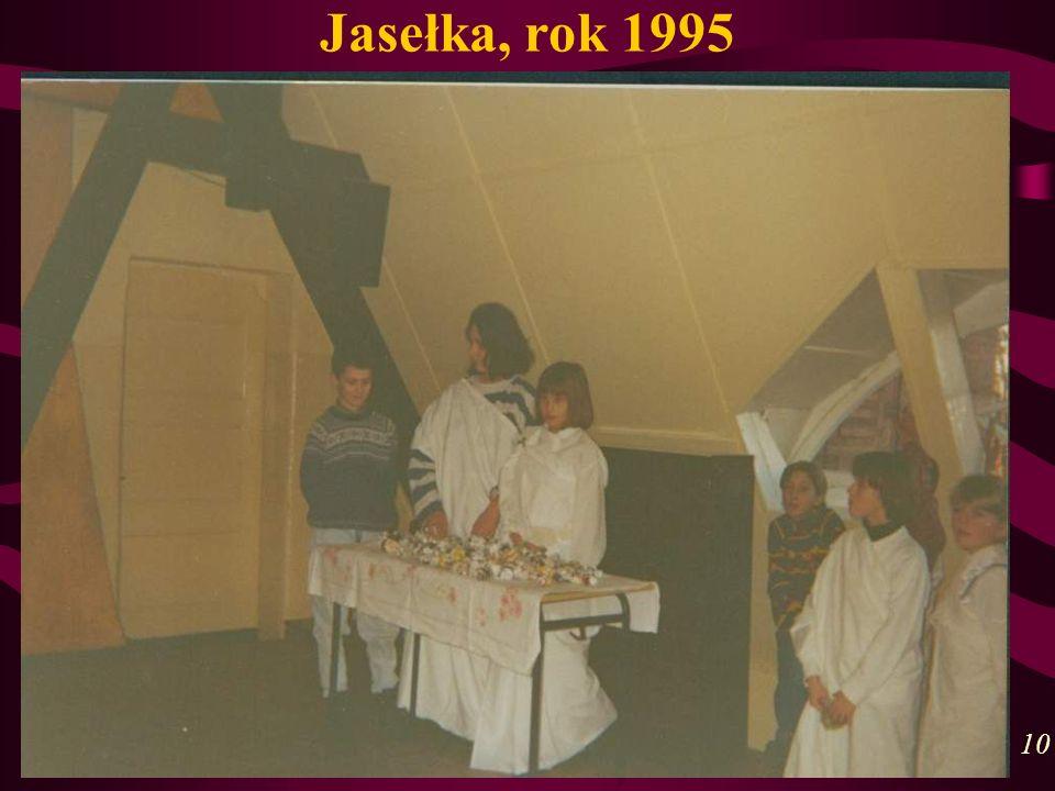 Jasełka, rok 1995 10