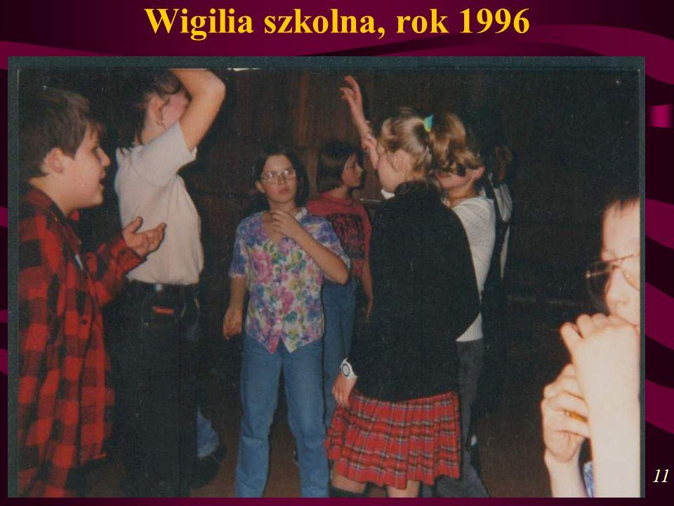 Wigilia szkolna, rok 1996 11