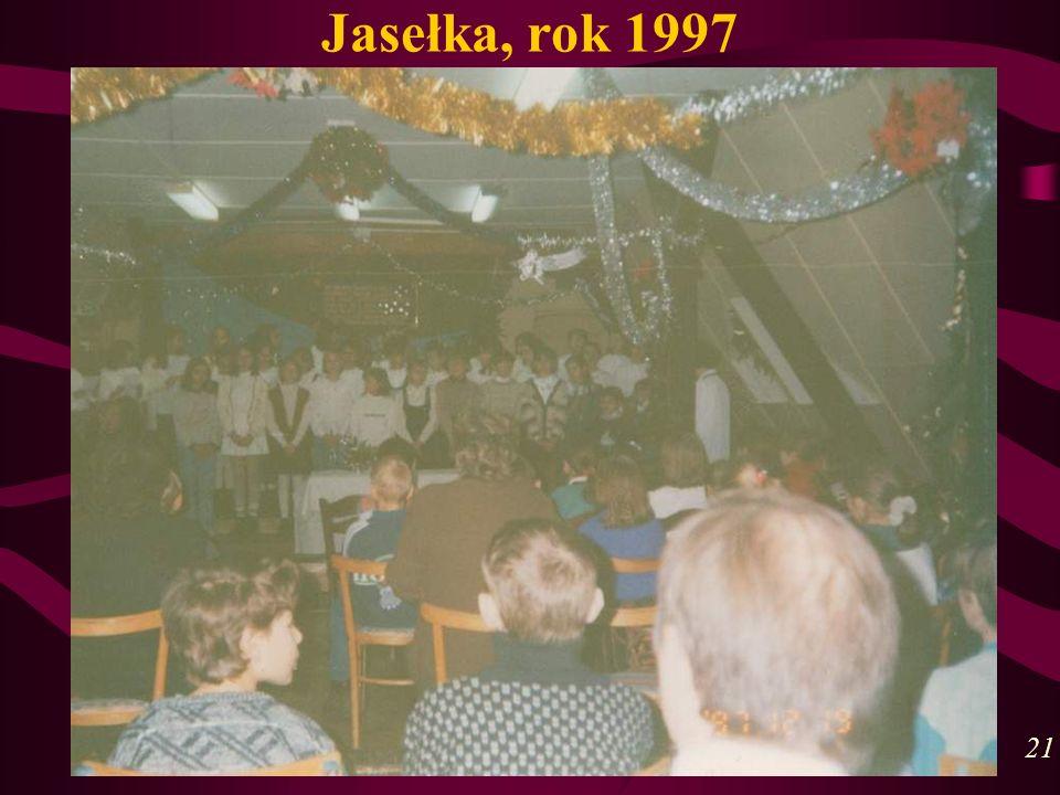 Jasełka, rok 1997 21