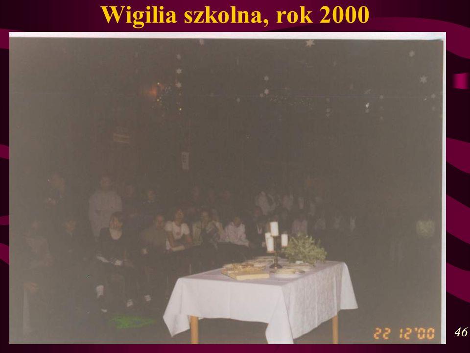Wigilia szkolna, rok 2000 46