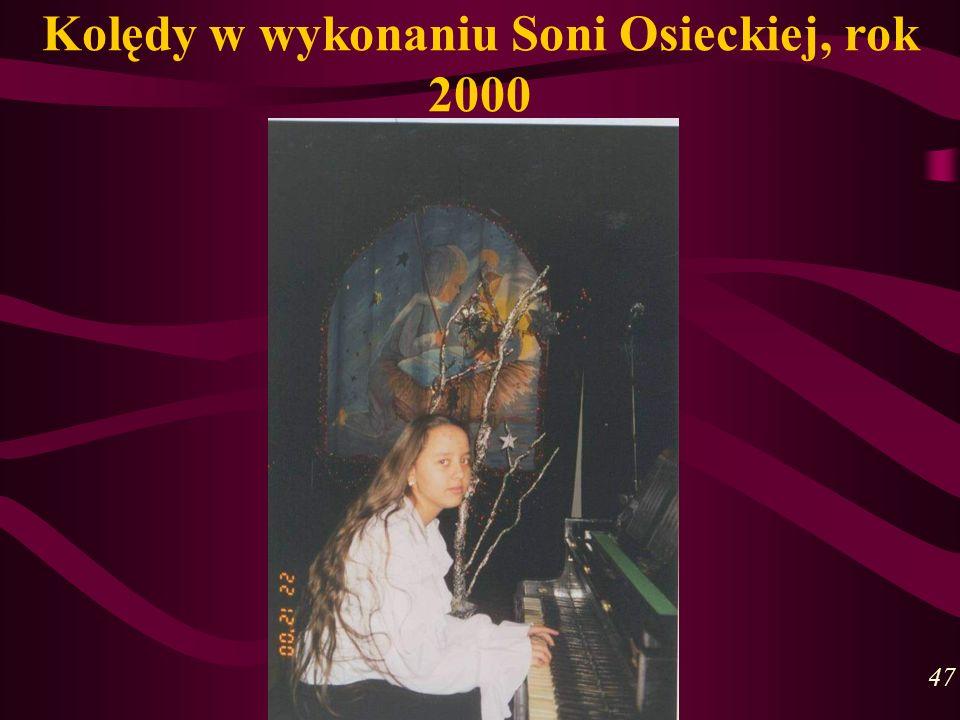 Kolędy w wykonaniu Soni Osieckiej, rok 2000 47