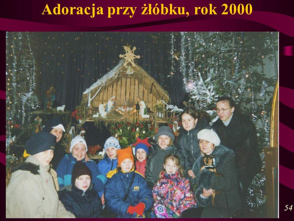 Adoracja przy żłóbku, rok 2000 54