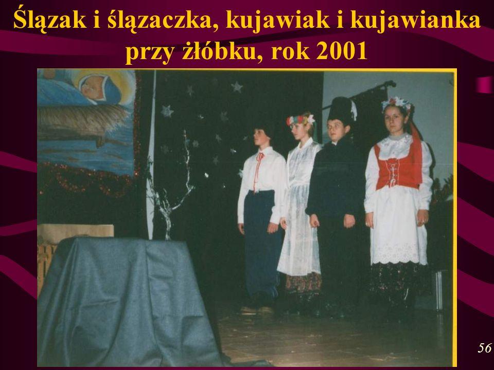 Ślązak i ślązaczka, kujawiak i kujawianka przy żłóbku, rok 2001 56