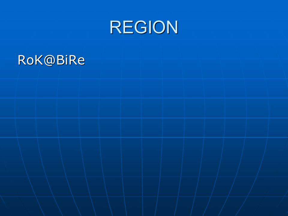 REGION RoK@BiRe