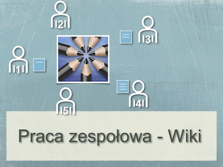 1 1 4 4 3 3 5 5 2 2 Praca zespołowa - Wiki Praca zespołowa - Wiki