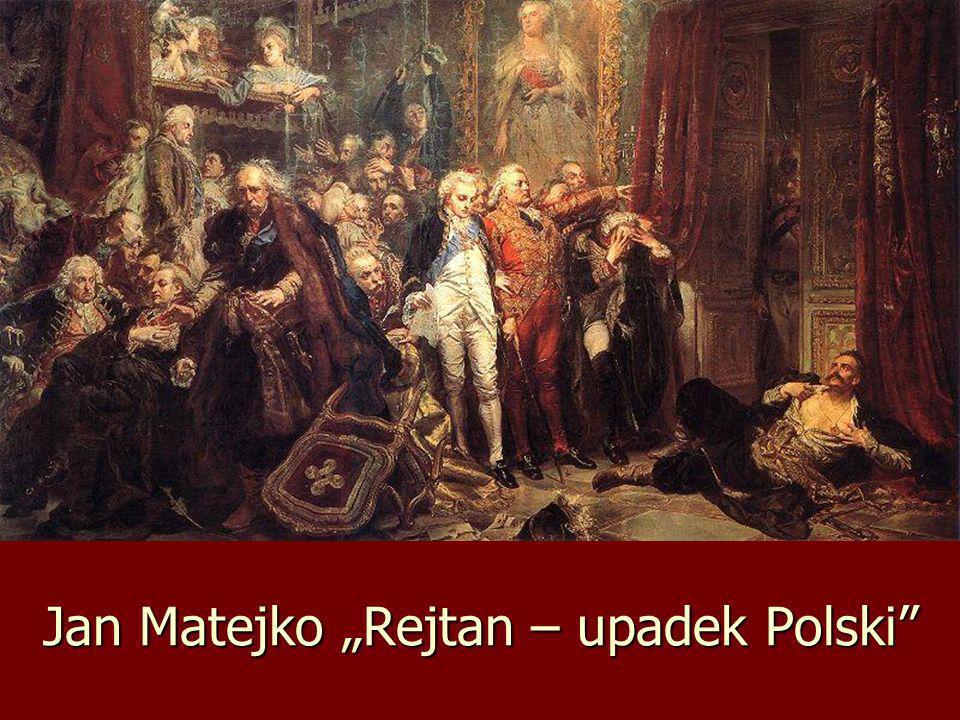 Jan Matejko Rejtan – upadek Polski