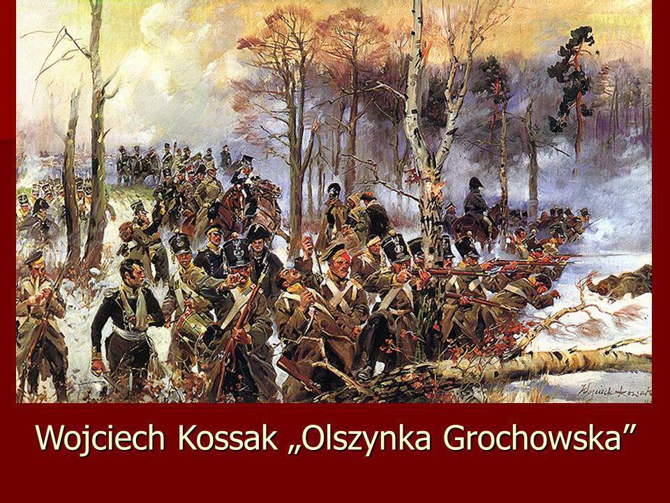 Wojciech Kossak Olszynka Grochowska
