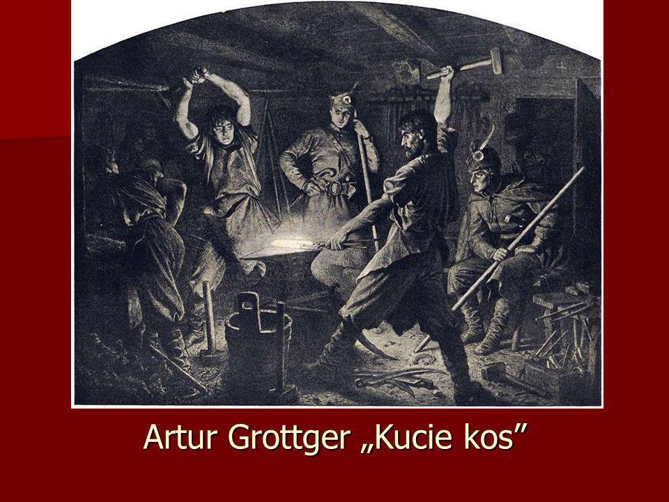 Artur Grottger Kucie kos