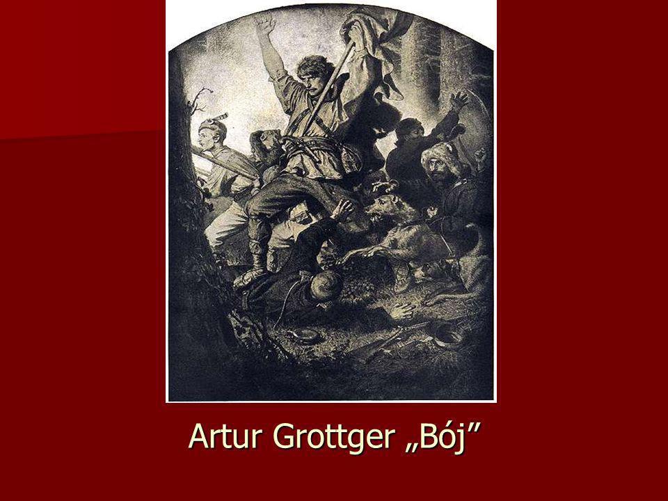 Artur Grottger Bój
