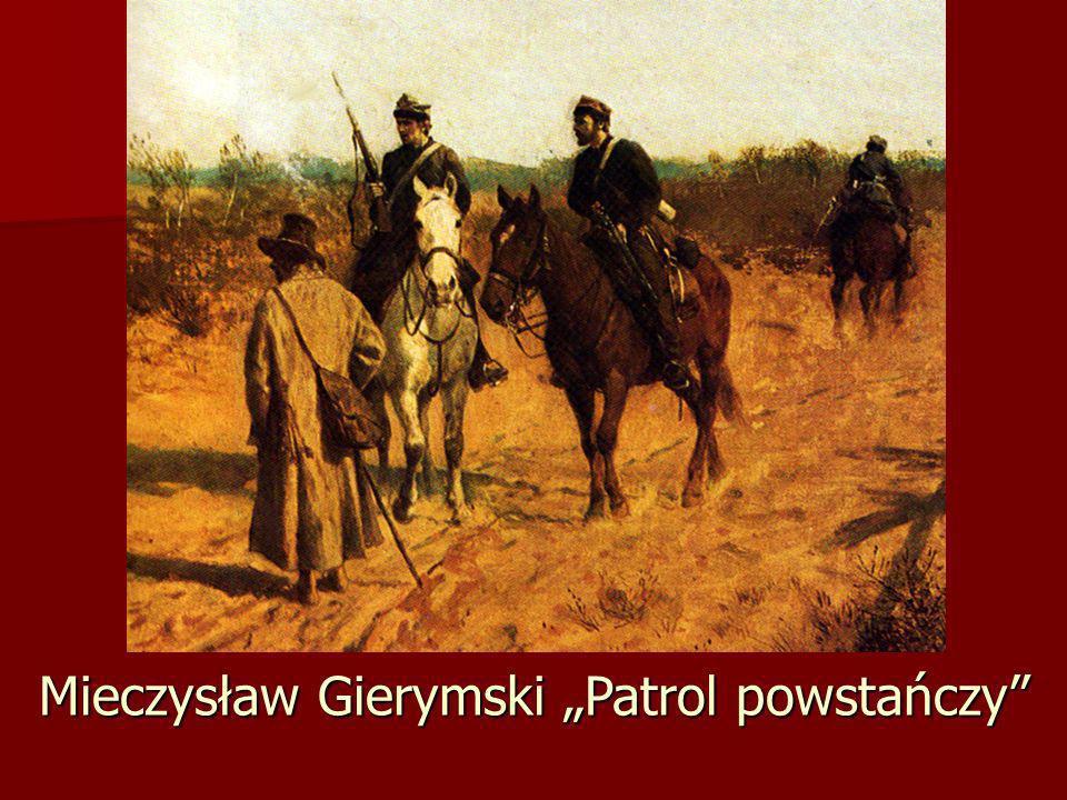 Mieczysław Gierymski Patrol powstańczy