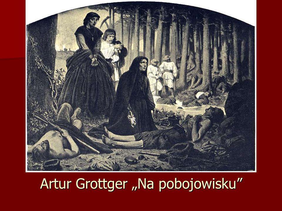 Artur Grottger Na pobojowisku