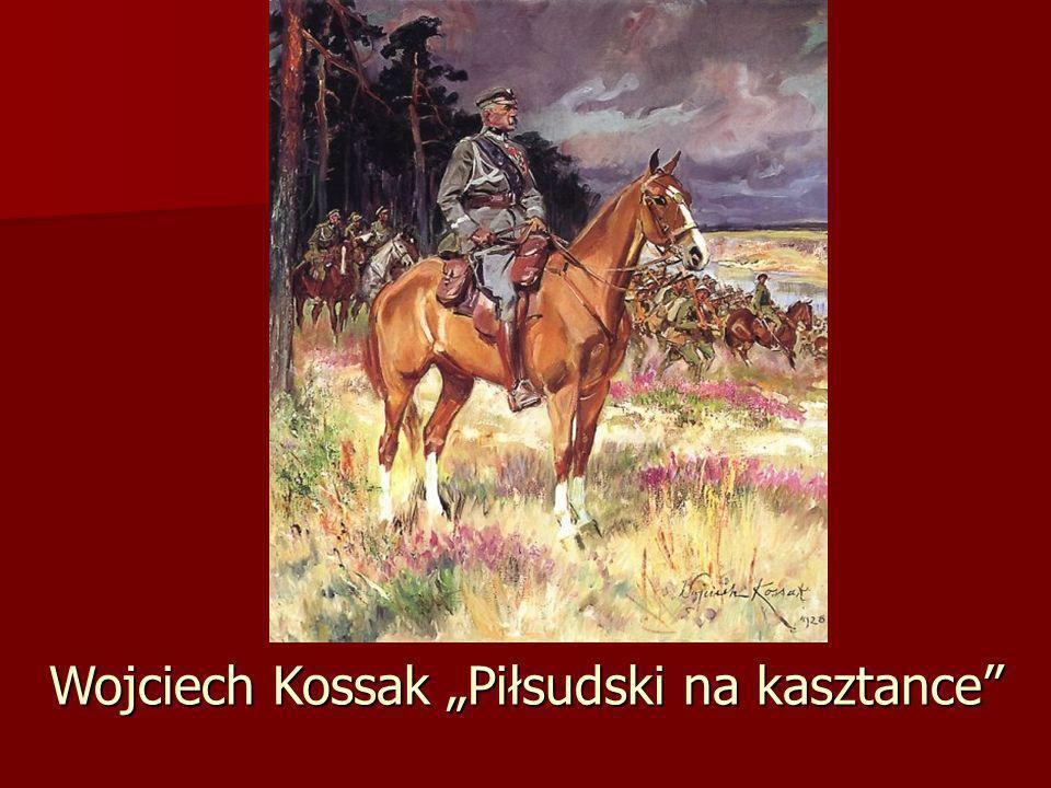 Wojciech Kossak Piłsudski na kasztance