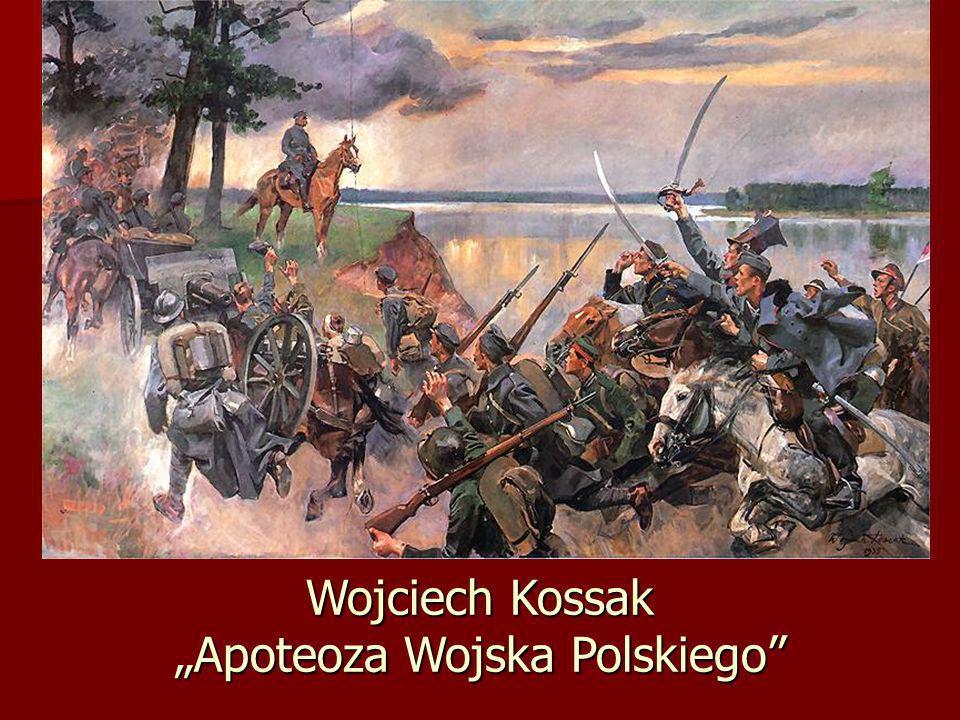 Wojciech Kossak Apoteoza Wojska Polskiego