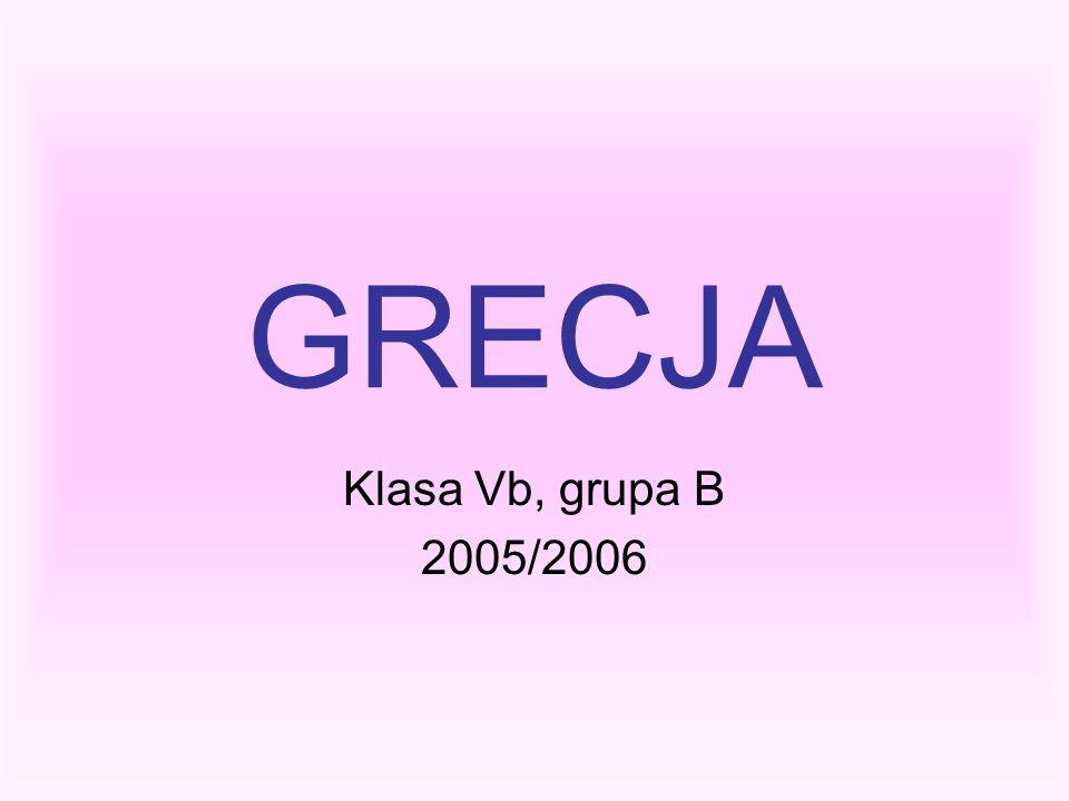 GRECJA Klasa Vb, grupa B 2005/2006