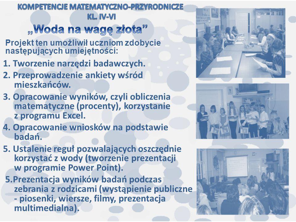 Pozytywne aspekty udziału w projekcie Z Małej Szkoły… zaobserwowane przez dyrektora Wzrost w zespole takich czynników jak: skłonność do wzajemnej współpracy i wsparcia, poczucie wspólnoty i wspólnej odpowiedzialności, koleżeńskość i miła atmosfera, motywacja do wspólnej, lepszej pracy na rzecz szkoły.