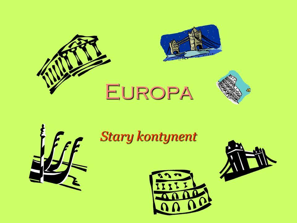 Europa Stary kontynent