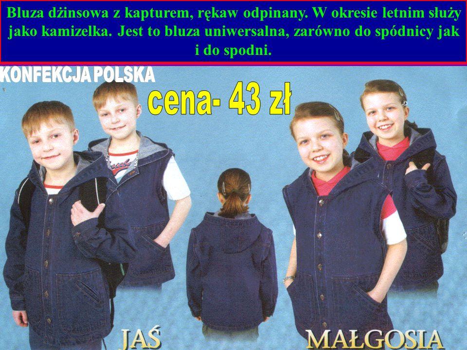 Rozmiar cena 98-122 26,50 128-140 32,00 146-158 35,00 164-182 44,00 Bluzy rozpinane, długi zamek Możliwe jest umieszczenie własnego logo szkoły na wybranym asortymencie, w technologii sita lub haftu komputerowego.