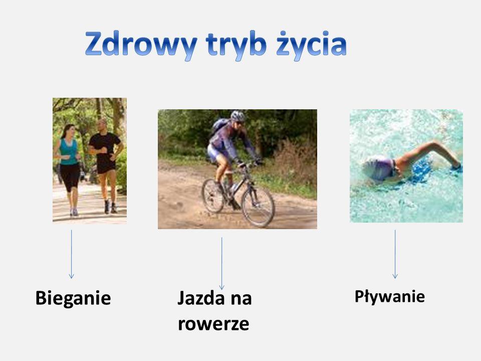BieganieJazda na rowerze Pływanie