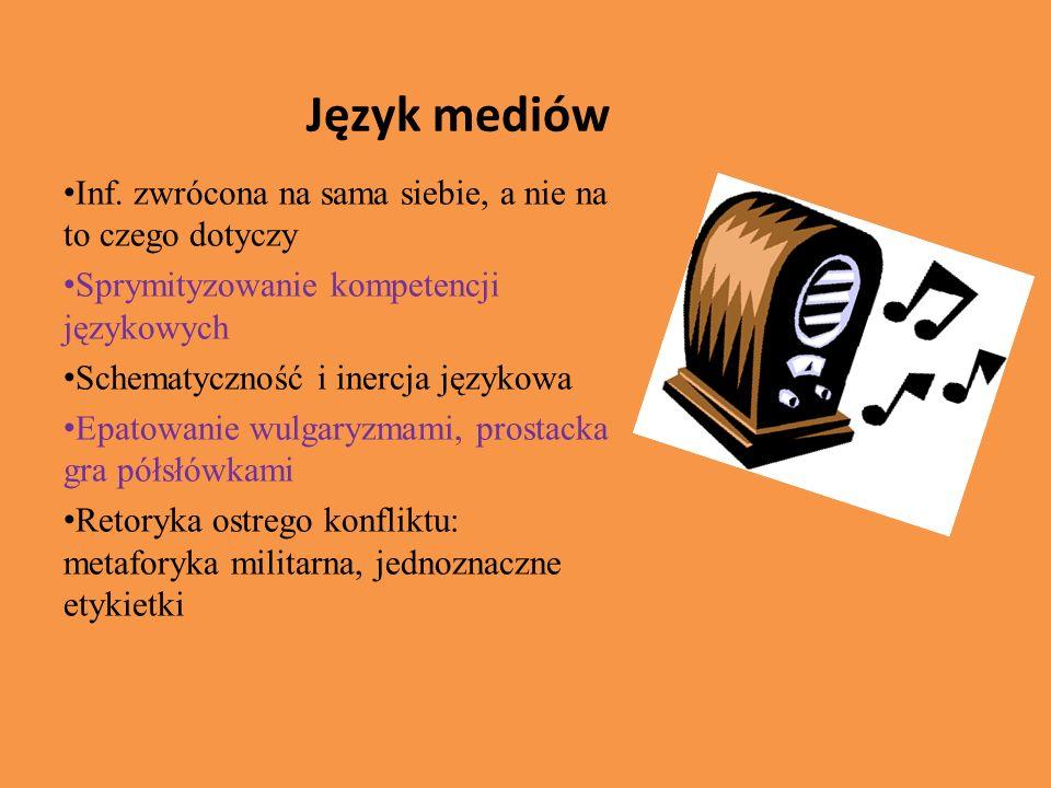 Język mediów Inf.