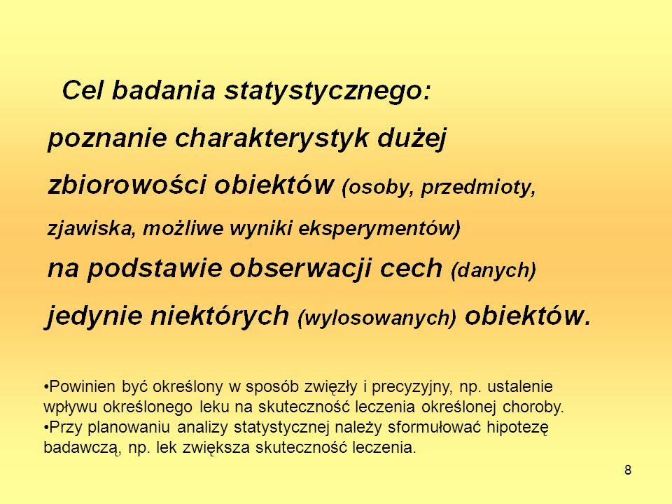 8 Powinien być określony w sposób zwięzły i precyzyjny, np.