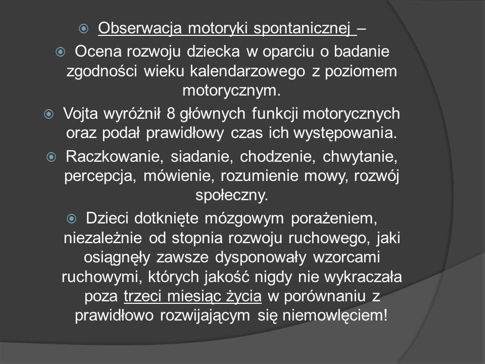 7 prowokacyjnych reakcji ułożenia ciała w przestrzeni: 1.