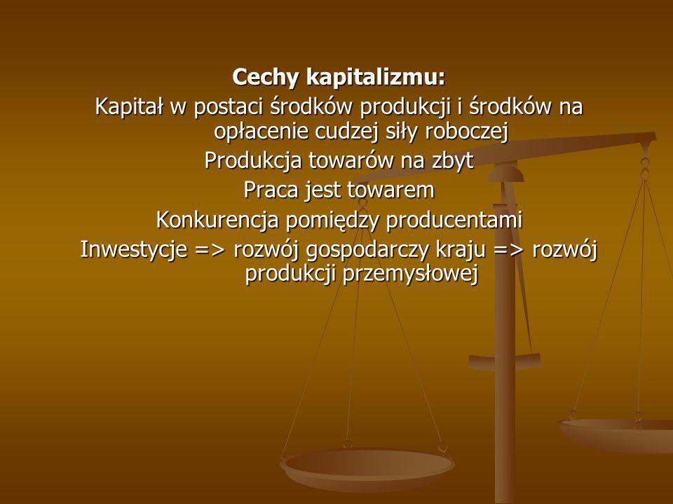 PODSTAWOWE CECHY EKONOMI KLASYCZNEJ: 1.Harmonijny przebieg procesów gospodarczych 2.