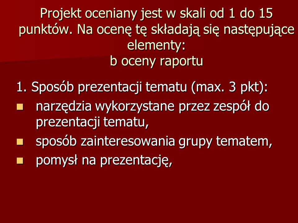 2.Przygotowanie prelegentów (max.